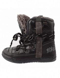 Ghete copii, piele naturala, marca sOliver, Cod 46103-1, culoare negru