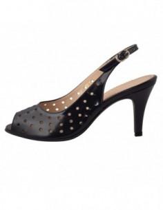 Sandale dama, piele naturala, marca Guban, Cod 497-42-07, culoare albastru