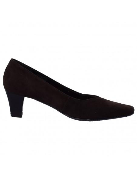 Pantofi S.Oliver piele naturală velur gri 13639