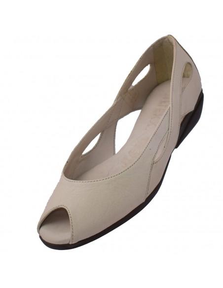 Pantofi Marc din piele naturala maro 87