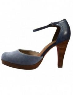 Sandale dama, piele naturala, marca sOliver, Cod 5-24406-22-41, culoare blue