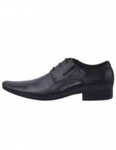 Pantofi barbati, piele naturala, marca Saccio, Cod 544-1, culoare negru