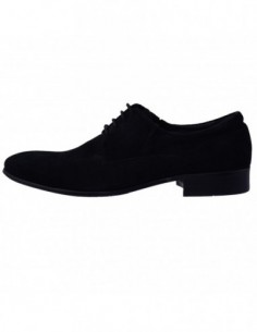 Pantofi barbati, piele naturala, marca Saccio, Cod 6223-80SC-1, culoare negru