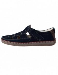 Pantofi barbati, piele naturala, marca Badura, Cod 6272-7, culoare albastru