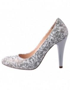 Pantofi dama, piele naturala, marca Botta, Cod 636-12, culoare auriu