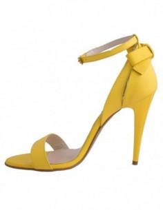 Sandale dama, din piele naturala, marca Botta, 885-08-05, galben