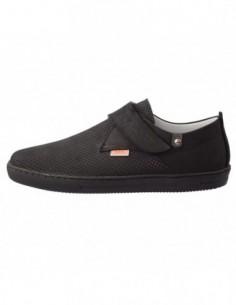 Pantofi copii, piele naturala, marca Hobby bimbo, Cod 7-1, culoare negru