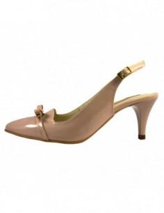 Pantofi dama, din piele naturala, marca Botta, 739-3, bej