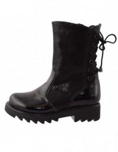 Cizme dama, piele naturala, marca Endican, Cod 7788-1, culoare negru