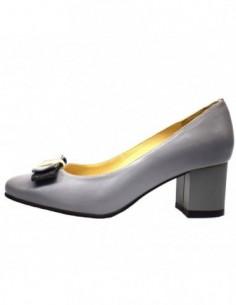 Pantofi dama, piele naturala, marca Botta, Cod 781-14, culoare gri
