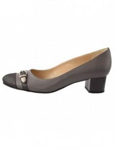 Pantofi dama, piele naturala, marca Botta, Cod 782-14, culoare gri