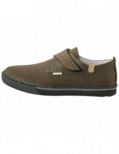 Pantofi copii, din piele naturala, marca Hobby bimbo, 8-2, maro