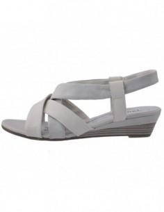 Sandale dama, piele naturala, marca Jana, Cod 8-28312-22-14, culoare gri