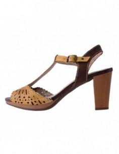 Sandale dama, din piele naturala, marca Pikolinos, 885-9644-08-17-21, galben