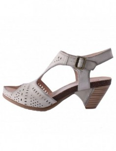 Sandale dama, din piele naturala, marca Pikolinos, 8458906F-14, gri