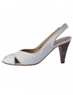 Sandale dama, piele naturala, marca Gatta, Cod 913359-K2, culoare alb satin
