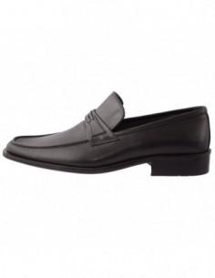 Pantofi barbati, piele naturala, marca Endican, Cod 915-1, culoare negru