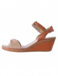 Sandale dama, piele naturala, marca Formenterra, Cod A5A4121-3, culoare bej