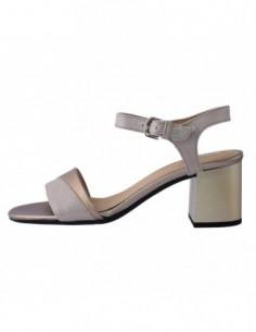 Sandale dama, piele naturala, marca Geox, Cod D724XB-12, culoare auriu