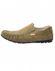 Pantofi copii, piele naturala, marca Viva Bimba, Cod K126-40, culoare kaki