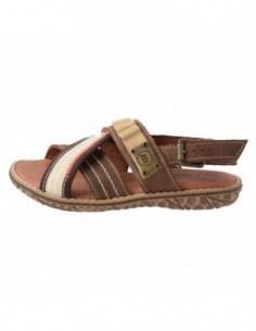 Sandale copii, piele naturala, marca Melania, Cod ME4084-2, culoare maro