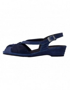 Sandale dama, piele naturala, marca Suave, Cod su0012t-nice-42-n-42, culoare bleumarin