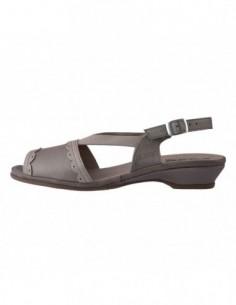 Sandale dama, piele naturala, marca Suave, Cod su0825t-madrid-52-n-52, culoare crem