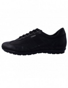 Pantofi barbati, din piele naturala, marca Geox, U44P2B-1, negru