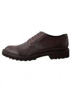 Pantofi barbati, din piele naturala, marca Geox, U44P6A-2, maro