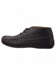 Pantofi barbati, din piele naturala, marca Geox, U52D3A-01-06, negru