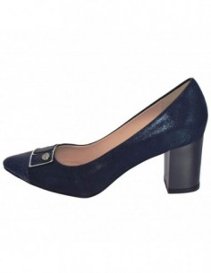 Pantofi dama, piele naturala, marca Botta, Cod 1085-18-42-05, culoare bleumarin