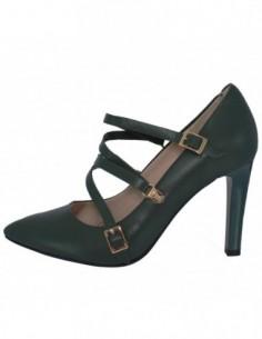 Pantofi dama, piele naturala, marca Botta, Cod 1087-18-06-05, culoare verde