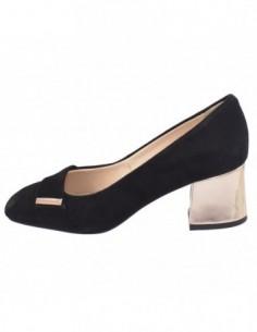 Pantofi dama, piele naturala, marca Botta, Cod 1088-18T-01-05, culoare negru