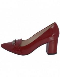 Pantofi dama, piele naturala, marca Botta, Cod 1089-18-05-05, culoare rosu