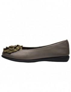 Balerini dama, piele naturala, marca Flexx, Cod 910278-14-18, culoare gri