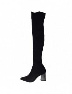 Cizme dama, textil si sintetic, marca Tamaris, Cod 1-25531-21-01-10, culoare negru