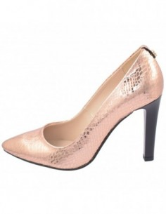 Pantofi dama, piele naturala, marca Botta, Cod 428-18T-B0-05, culoare auriu antichizat