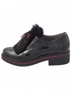 Pantofi dama, piele naturala, marca Pitillos, Cod 5-116-1-01-132, culoare negru
