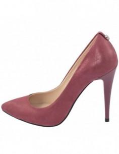 Pantofi dama, piele naturala, marca Botta, Cod 632-18-23-05, culoare visiniu