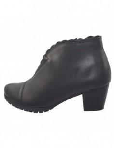 Ghete dama, piele naturala, marca Alpina, Cod 7J951-01-23, culoare negru