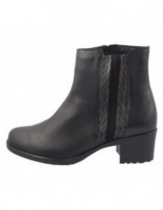Ghete dama, piele naturala, marca Alpina, Cod 7K271-01-23, culoare negru