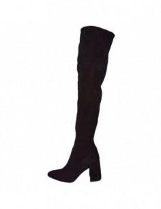 Cizme dama, piele naturala, marca Gino Rossi, Cod DKI033-Y65-01-32, culoare negru
