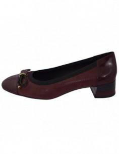 Pantofi dama, piele naturala, marca Geox, Cod D849XC-C7357-30-06, culoare bordo