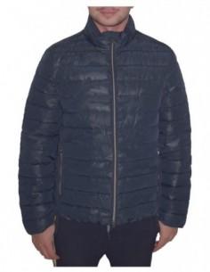 Jacheta barbati, poliamida, marca Geox, Cod M8428F-TF247-42-06, culoare bleumarin