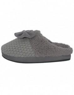 Papuci de casa dama din textil, textil, marca s.Oliver, Cod 5-27104-31-14-15, culoare gri