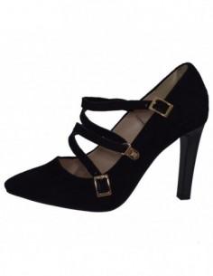Pantofi dama, piele naturala, marca Botta, Cod 1087-18-01-05, culoare negru