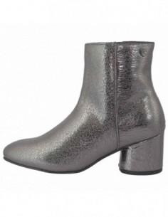 Ghete dama, piele naturala, marca Gioseppo, Cod 46438-18-12, culoare argintiu
