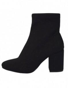 Ghete dama, textil si sintetic, marca Gioseppo, Cod 46186-01-12, culoare negru