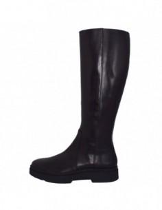 Cizme dama, piele naturala, marca Geox, Cod D849WD-C9999-01-06, culoare negru