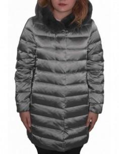 Jacheta textil dama, poliamida, marca Geox, Cod W8425M-F3188-M0-06, culoare verde